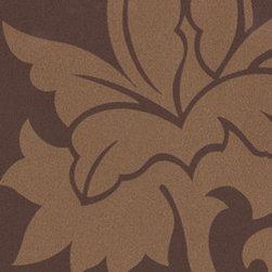 Metropolis Vinyls Dusa From Osborne and Little - A distinctive floral trail in monochrome.