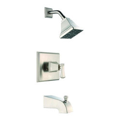 Pegasus - Pegasus Exhibit WaterSense 1-Handle Tub and Shower Faucets in Brushed Nickel - Exhibit WaterSense 1-Handle Tub and Shower Faucet in Brushed Nickel