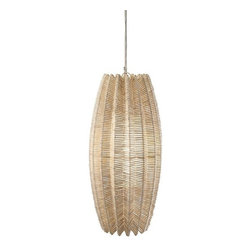 """IMAX - Marquino Oversized Pendant Light - With a stunning visual presence and captivating texture, this accessory takes nature to another level. Item Dimensions: (32.5""""h x 16""""w x 16"""")"""
