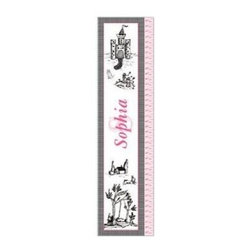KidKraft - Toile Growth Chart, MDF by Kidkraft - Can be personalized with any name up to 9 characters in length. All lower case letters. It's so easy to measure your child's height. Ruler is marked at half inch increments, from 19' to 59'.