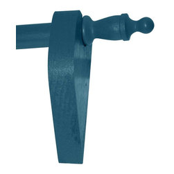 Renovators Supply - Curtain Rods Bayberry Green Pine Curtain Rod Set 36'' Urn finials - Curtain Rod Set. Bayberry Green Pine Curtain Rod SET. Includes a  36 inch long rod, pair of brackets and pair of finials. Rods can be cut shorter to with a hacksaw. Rod is 3/4 inch in diameter and 36 inches long.