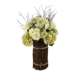 "60011 Summer Sheaf Hydrangea Mix by Uttermost - Get 10% discount on your first order. Coupon code: ""houzz"". Order today."