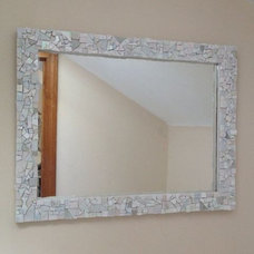 Modern Wall Mirrors by Live In Mosaics