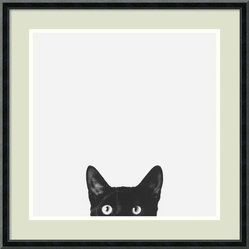 Curiosity Framed Print by Jon Bertelli