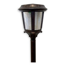 Alpan Lighting Products, Inc. - Brittania Collection Solar Garden Lights (Set of 2) - Quality outdoor lighting powered by the sun is an eco-friendly, cost efficient way to light up walkways and gardens.