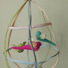 eclectic nursery decor Large Birdcage