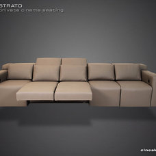 Modern Sectional Sofas by Cineak Custom Home Theater Seats