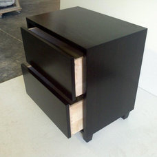 Contemporary Nightstands And Bedside Tables by Serrao Cabinets & Design