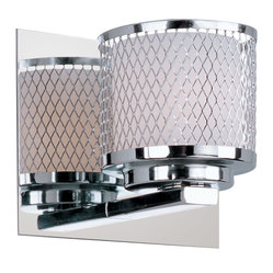 Mesh 1-Light Wall Sconce