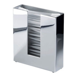 Modo Bath - Harmony 406 Cotton Tips Container in Chrome - Harmony 406 Support for Cotton Tips in Chrome