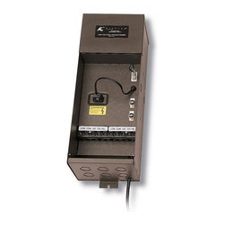 Kichler Transformer 900W Plus Series - Textured Architectural Bronze - Transformer 900W plus series plus series transformers feature a 6` cord, pluggable options with a powder coated steel case. Important: this unit is not approved for use with fixtures placed in ponds or landscape water features.