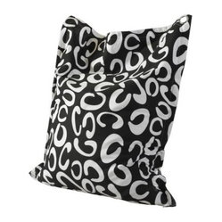 Powell Anywhere Lounger Bean Bag - Contemporary Curves