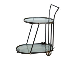 Barbette Drink Cart - Product Features: