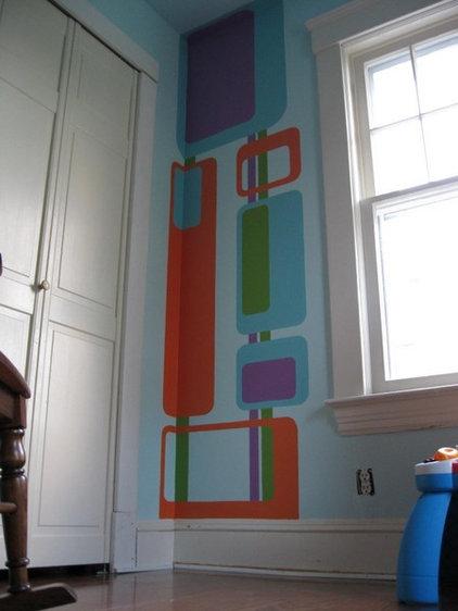 Modern Kids Nursery for a Private Residence
