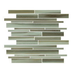 Utaupia Linear Hand-Painted Glass Tiles