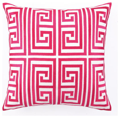 modern pillows by Julie Thigpen