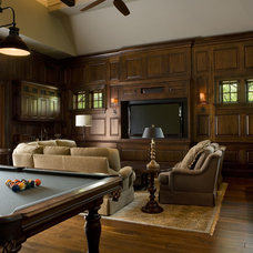 Traditional Living Room by Buffington Homes South Carolina
