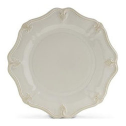 Lenox - Lenox Butler's Pantry Gourmet 11 1/4-Inch Dinner Plate - Mix and match these lovely pieces with other members of Butler's Pantry Gourmet and Butler's Pantry. Crafted of stoneware, the dinnerware pattern is distinguished by its gently scalloped edges and exquisite sculpting.
