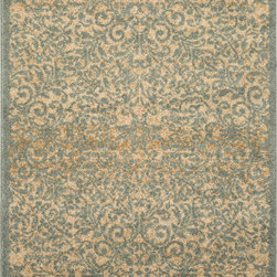 "Surya - Surya Tatil TTL-1017 (Beige, Gold, Moss) 7'6"" x 10'6"" Rug - This Machine Made rug would make a great addition to any room in the house. The plush feel and durability of this rug will make it a must for your home. Free Shipping - Quick Delivery - Satisfaction Guaranteed"