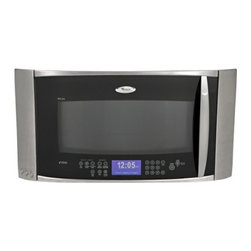 """Whirlpool - GH7208XRS Gold 30"""" Velos Speedcook Over-the-Range Microwave Oven with True Conve - This powerful over-the-range microwave and hood combination featuring g2Max Speedcook technology offers the speed of a microwave and the power and versatility of a traditional convection oven Grill rack convection broil rack and SureMist steamer and ..."""