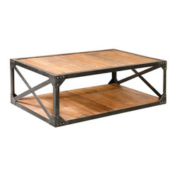 Furniture Classics Limited - Recycled Cocktail Table -