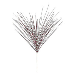 Silk Plants Direct - Silk Plants Direct Glitter Long Needle Pine (Pack of 24) - Red - Pack of 24. Silk Plants Direct specializes in manufacturing, design and supply of the most life-like, premium quality artificial plants, trees, flowers, arrangements, topiaries and containers for home, office and commercial use. Our Glitter Long Needle Pine includes the following: