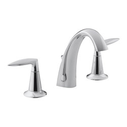 KOHLER - KOHLER K-45102-4-CP Alteo Widespread Bathroom Sink Faucet - KOHLER K-45102-4-CP Alteo Widespread Bathroom Sink Faucet in Polished Chrome