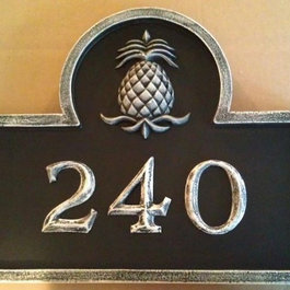 Online shopping for furniture decor and home - Creative house number signs ...