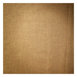 Metallic Gold Coated Khaki Linen Fabric - Shimmering solid of gold metallic foil on khaki slubby linen. A chic alternative to standard neutrals that adds depth & sparkle.Recover your chair. Upholster a wall. Create a framed piece of art. Sew your own home accent. Whatever your decorating project, Loom's gorgeous, designer fabrics by the yard are up to the challenge!