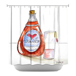 DiaNoche Designs - Shower Curtain Artistic - Love Potion No. 9 - DiaNoche Designs works with artists from around the world to bring unique, artistic products to decorate all aspects of your home.  Our designer Shower Curtains will be the talk of every guest to visit your bathroom!  Our Shower Curtains have Sewn reinforced holes for curtain rings, Shower Curtain Rings Not Included.  Dye Sublimation printing adheres the ink to the material for long life and durability. Machine Wash upon arrival for maximum softness on cold and dry low.  Printed in USA.