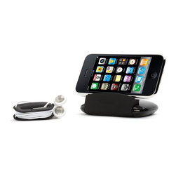Travel Stand - for iPhone & iPod - Loving this hands-free travel stand for the iPhone and iPod. It turns an airplane tray table into a mini movie theater!