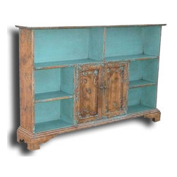 EuroLux Home - New Bookcase Mediterranean Turquoise Blue - Product Details