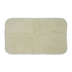 "Mohawk - Floor Mat: Ivory 20"" x 34"" Bath - Shop for Flooring at The Home Depot. Add softness underfoot with these nylon bath rugs. A stylish way to add warmth to tile floors, these rugs are available in an array of designer colors. Your bathroom will look better with the addition of these beautiful bathroom mats."