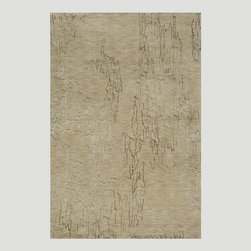 World Market - Sand Clouds Rug - Traditional techniques combine with modern design in this Sand Clouds Rug, a unique and chic statement piece for your contemporary decor. The sandy-hued base is machine made from wool for extra durability, while the artistic interpretation of cirrus-like clouds is done by hand in a pretty viscose art silk. Available in multiple sizes, this stylish rug was made to last in high traffic areas - and is sure to outlast design trends year after year.