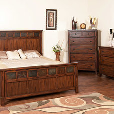 Traditional Beds by La Fuente Imports