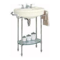 American Standard - American Standard Standard Pedestal/Console Top, Linen (0283.008.222) - American Standard 0283.008.222 Standard Pedestal/Console Top, Linen