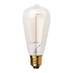 Vintage Filament Edison Light Bulb 40 watts - Vintage Filament Edison Light Bulb 40 watts