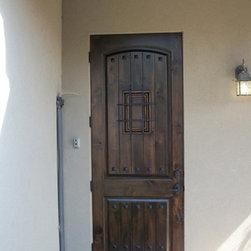 Estancia Entry Doors - 3' x 8' Estancia Single Door by The Front Door Company.