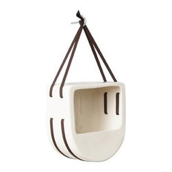 Lunchbox Birdfeeder - I love Perch's birdfeeders. This one has the same clean, contemporary lines with a fun, different shape.