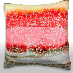 Custom Photo Factory - Topographic Pattern Pillow.  Polyester Velour Throw Pillow - Topographic Pattern Pillow. 18 Inches x 18  Inches.  Made in Los Angeles, CA, Set includes: One (1) pillow. Pattern: Full color dye sublimation art print. Cover closure: Concealed zipper. Cover materials: 100-percent polyester velour. Fill materials: Non-allergenic 100-percent polyester. Pillow shape: Square. Dimensions: 18.45 inches wide x 18.45 inches long. Care instructions: Machine washable