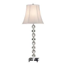 Dale Tiffany - Dale Tiffany Gb11065 Simon Buffet Table Lamp - Wattage: 60W