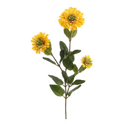 Silk Plants Direct - Silk Plants Direct Zinnia (Pack of 12) - Yellow - Pack of 12. Silk Plants Direct specializes in manufacturing, design and supply of the most life-like, premium quality artificial plants, trees, flowers, arrangements, topiaries and containers for home, office and commercial use. Our Zinnia includes the following: