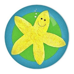 Under the Sea Starfish Knob - This starfish knob is too cute for a bathroom! It also comes in octopus.