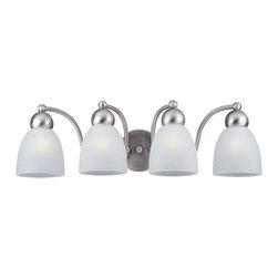 Sea Gull Lighting - Sea Gull Lighting 49437 Metropolis 4 Light Energy Star Bathroom Vanity Light - Features: