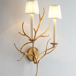 "VISUAL COMFORT ""Branch"" Sconce"