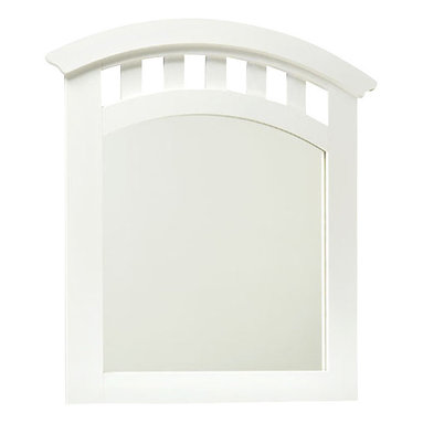 Standard Furniture - Standard Furniture Free2B Kids' Arched Mirror in White - Practice math, play tic-tac-toe or let the artistic flair come out with our free 2B youth bedroom. Featuring specially formulated dry erase marker board wrapped surfaces.