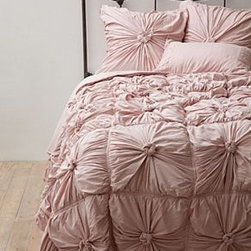 Anthropologie - Rosette Quilt - *By Lazybones