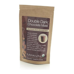 Super Tea Booster® Double Dark Chocolate Mat� - Roasted yerba mat� and dark chocolate enrich blended smoothies and milks with deep flavor and healthful antioxidants. Delicious, low-calorie pure ground tea also adds a boost to ice cream or applesauce.