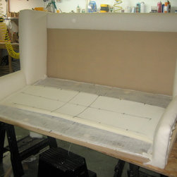 Upholstery Process - Settee