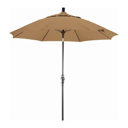 Phat Tommy - 9 Ft. Market Patio Umbrella in Straw - The Phat Tommy umbrella is part of our Outdoor Oasis Line. This will ensure your umbrella stays looking brand new, season after season.